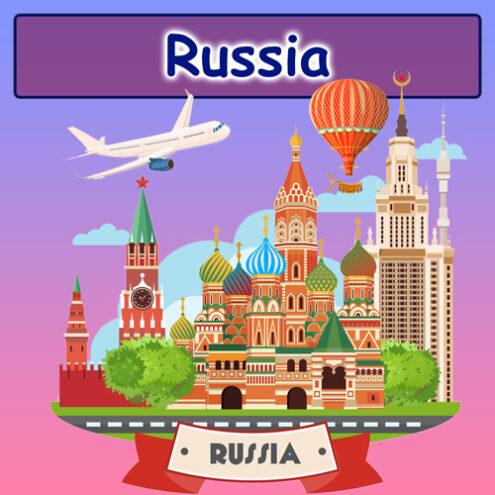 +60 جای دیدنی روسیه + تصویر (بخش اول) | مکانها ، جاذبههای گردشگری و جاهای دیدنی روسیه